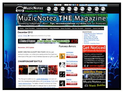MuzicNotez Magazine